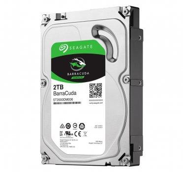 Жорсткий диск 3.5' 2Tb Seagate BarraCuda SATA3 64Mb 7200 rpm ST2000DM006 Ref