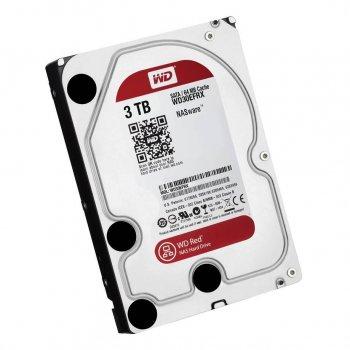 Жорсткий диск 3.5' 3Tb Western Digital Red, SATA3, 64Mb, IntelliPower (WD30EFRX)