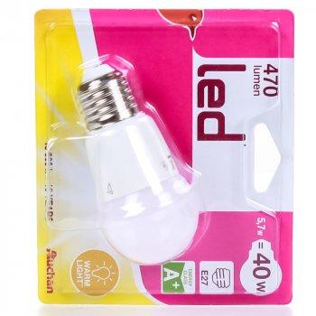 Світлодіодна Лампочка Auchan (40 Вт; E27)