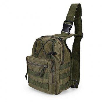 Рюкзак сумка тактическая военная Спартак 600D Прочная и универсальная Olive