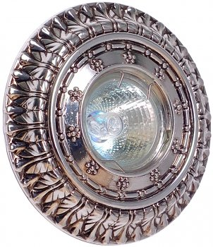 Світильник точковий ULTRALIGHT CL 6012 MR16 сріблясто-чорний