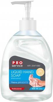 Упаковка крем-мыла PRO service жидкого с бальзамом Молоко и мед 525 мл х 4 шт (4019886077163)