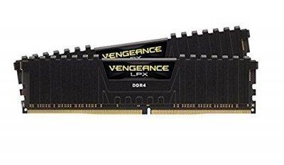 Пам'ять Corsair 16 GB (2x8GB) DDR4 2133 MHz Vengeance LPX C13 (CMK16GX4M2A2133C13)