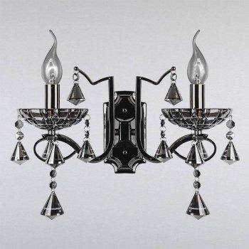 Бра Light House LS-10681-2 чорний хром