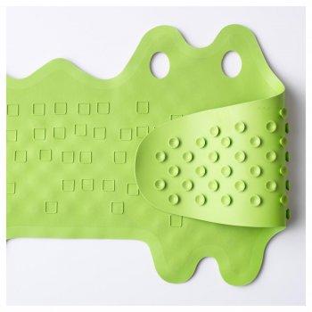 Килимок в ванну IKEA PATRULL зелений крокодил 101.381.63