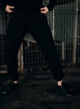 """Штаны Мужские Intruder 'Stroper"""" Oversize осеннее весеннее летнее спортивные брюки черные"""