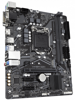 Материнская плата Gigabyte H410M S2H (s1200, Intel H410, PCI-Ex16)
