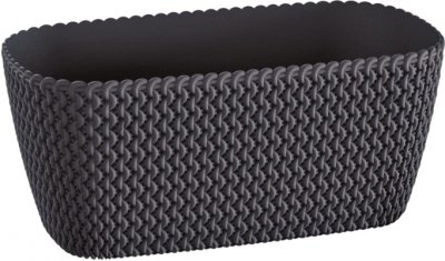 Балконний ящик Prosperplast Splofy Case 30 см Антрацит (26026-433)