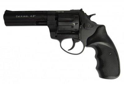 "Револьвер флобера STALKER S 4 мм 4,5"" чёрн. рук.(силумин.барабан) (3880.00.30)"