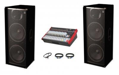 Комплект звуку Sound Division С500-801 2х500Вт з ревербератором