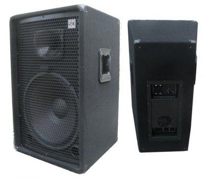 """Активна акустична система Sound Division DJ15SA-2 15"""" 350Вт 8Ом + 350Вт вихід на пасивну АС"""