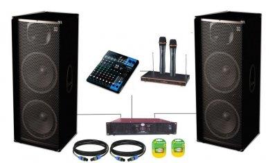 Комплект звуку Sound Division KARC500 1000Вт з радіомікрофонами