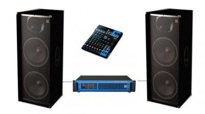 Комплект звуку Sound Division DJ215/1 2000 Вт