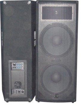 Комплект з 2-х акустичних систем City Sound CS-215SA-2 2000 Вт