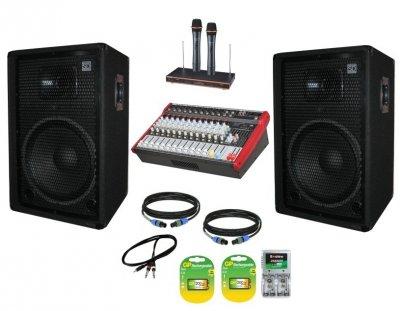 """Комплект звука Sound Division DJ15KAR2 2х350Вт 15"""" 600Вт"""