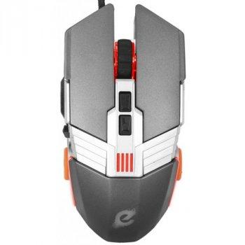 Мышь Ergo NL-780 USB Grey Б/У