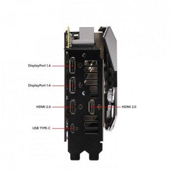 Відеокарта Asus GeForce RTX 2080 Ti Strix Advanced edition 11GB GDDR6 (352bit) (ROG-STRIX-RTX2080TI-A11G-GAMING)