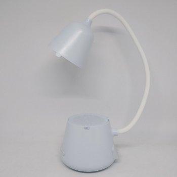 Смарт лампа колонка настольная Cydhyteam HY41 led bluetooth 5в1 портативный динамик Голубая
