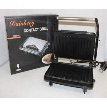 """Багатофункціональний гриль """"Електрогриль, сэндвичница, бутербродниця"""" Rainberg RB-5401 1500W"""