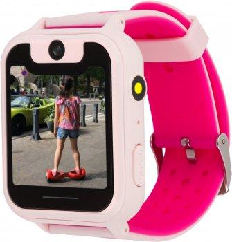 Смарт-годинник Discovery iQ4500 Camera LED Light GPS Pink