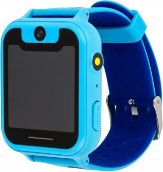 Смарт-годинник Discovery iQ4500 Camera LED Light GPS Blue