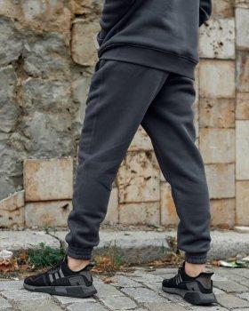 Теплые спортивные штаны Пушка Огонь Jog 2.0 темно-серые