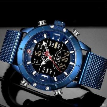 Наручний годинник AlexMosh чоловічі Naviforce NF9153S All Blue (54)
