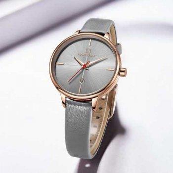 Наручний годинник AlexMosh жіночі Naviforce NF5006 Gray-Cuprum (7)