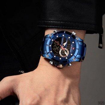 Наручний годинник AlexMosh чоловічі Naviforce NF9163 All Blue (38)