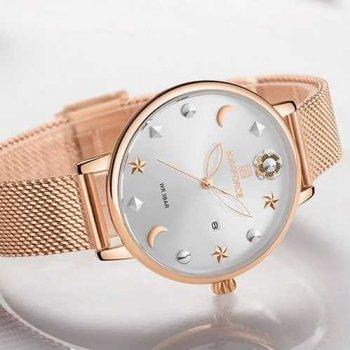 Наручний годинник AlexMosh жіночі Naviforce NF5009 Cuprum-White (9)