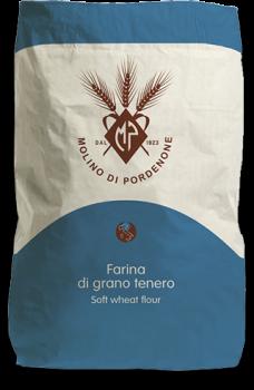 """Універсальне італійське борошно з м'яких сортів Molino di Pordenone """"Nazionale"""" 25 кг"""