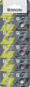 Батарейки Defender Alkaline LR621-10B AG1 10 шт (56301)