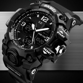 Часы Skmei 1155 Black