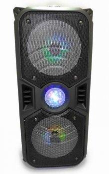 Портативна Bluetooth колонка KTS-1042 з мікрофоном, чорна