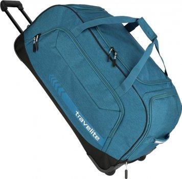 Дорожная сумка на колесах Travelite Kick Off 77 x 41 x 38 см Синяя (TL006911-22)