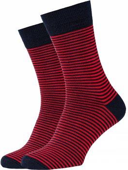 Носки GoodSox Red Stripes 111-23 Черно-красные