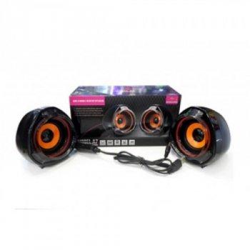 Колонки для PC 2.0 AFG ART-A70 Premium, чорні, акустика, акустична система, музичний центр, Bluetooth ( блютус), для будинку, дачі, кафе, природи, акумуляторні, комп'ютерні