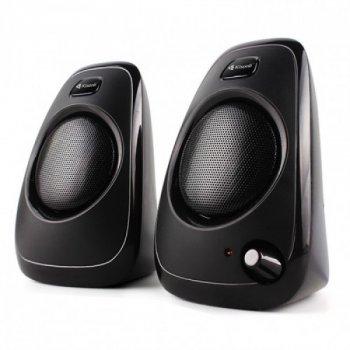 Колонки для PC 2.0 Kisonli A-8080 Premium, чорні, акустика, акустична система, музичний центр, Bluetooth ( блютус), для будинку, дачі, кафе, природи, акумуляторні, комп'ютерні