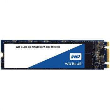Накопичувач SSD 1TB WD Blue M. 2 2280 SATAIII 3D TLC (WDS100T2B0B)