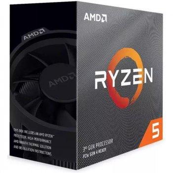 Процессор AMD Ryzen 5 3600XT (3.8GHz 32MB 95W AM4) Box (100-100000281BOX)
