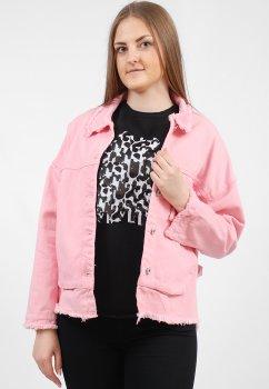 Куртка женская Fashion 682-1 розовый OSFM