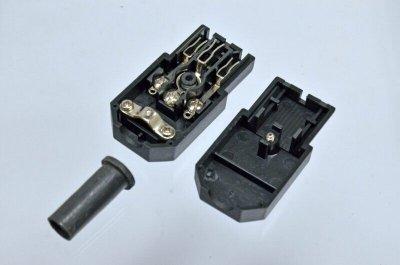 Разъем вилка разборная Kingda C13 10A KD-C13