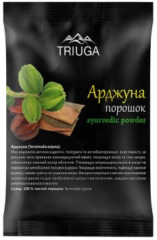 Аюрведический порошок Triuga Арджуна 2 х 50 г (8908003544557)