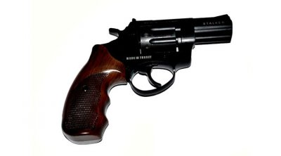 "Револьвер под патрон Флобера STALKER 2,5"" S коричн. рук."