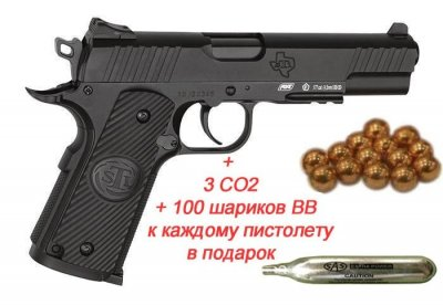 Пістолет пневм. ASG STI Duty One Blowback! 4,5 мм
