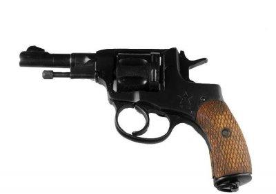 Револьвер под патрон Флобера Гром НАГАН укороченый НКВД