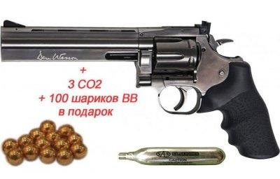 Револьвер пневм. ASG DW 715 Pellet