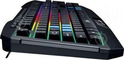Клавиатура Genius Scorpion K215 Black UKR USB (31310474105)Тип - игровая, проводная, с подсветкой, конструкция - мембранная, интерфейс подключения - USB, цвет - черная