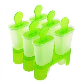 Формы для мороженого пластик 6 штук в наборе 10*9.5см Stenson (R21107)
