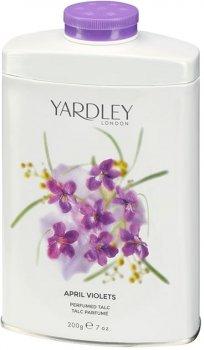 Тальк для тела Yardley April Violets 200 г (5060322952451)